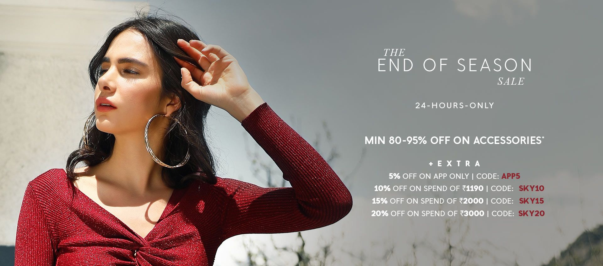 MIN 80-90% OFF ON ACCESSORIES