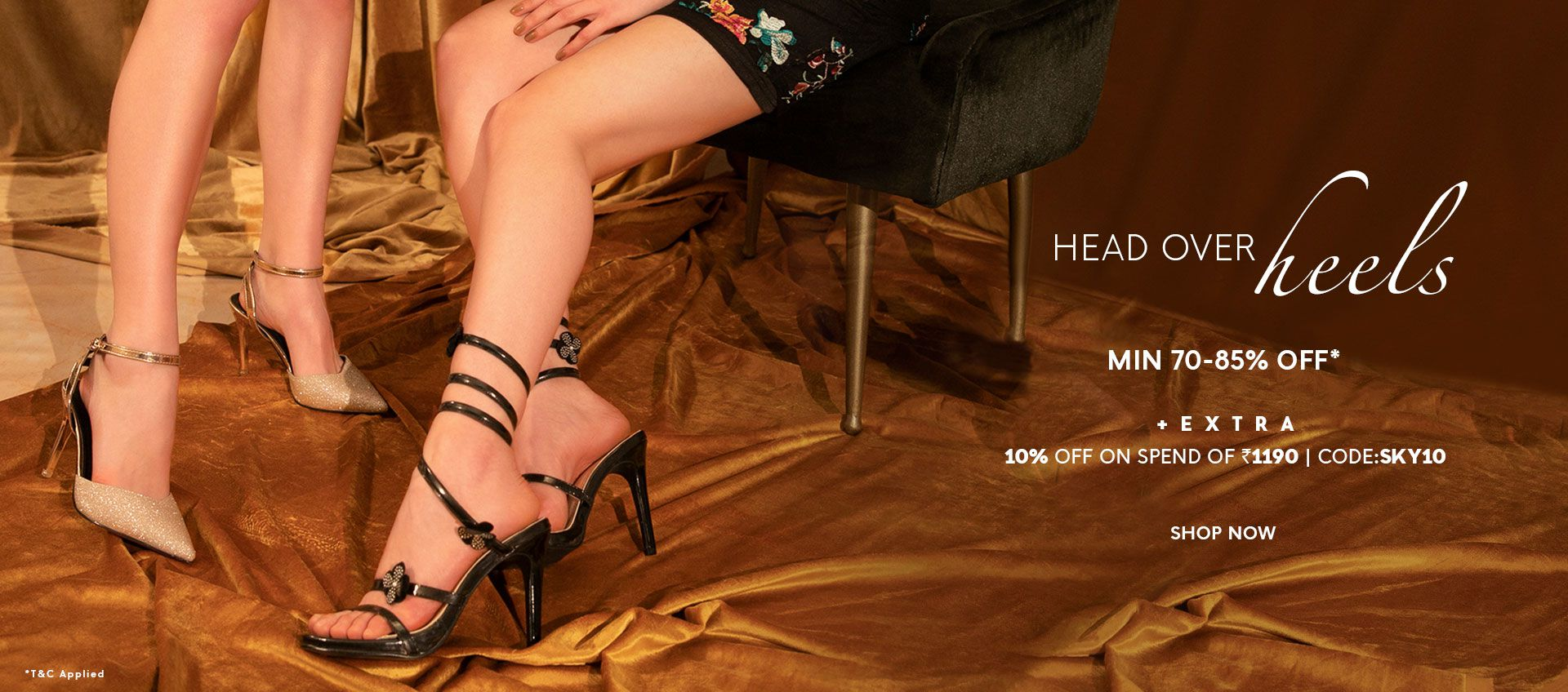 MIN 70-85% % OFF ON SHOES
