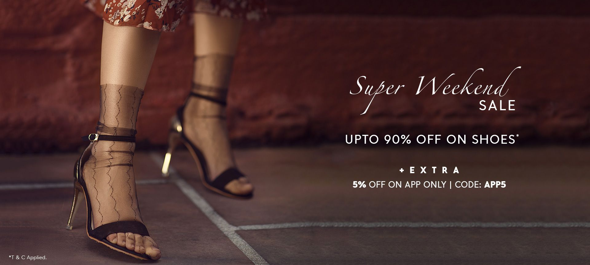 UPTO 90% OFF ON SHOES