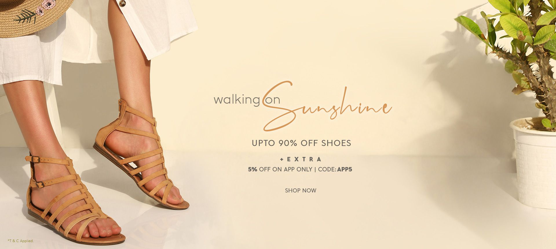 FLAT 85% OFF ON SHOES