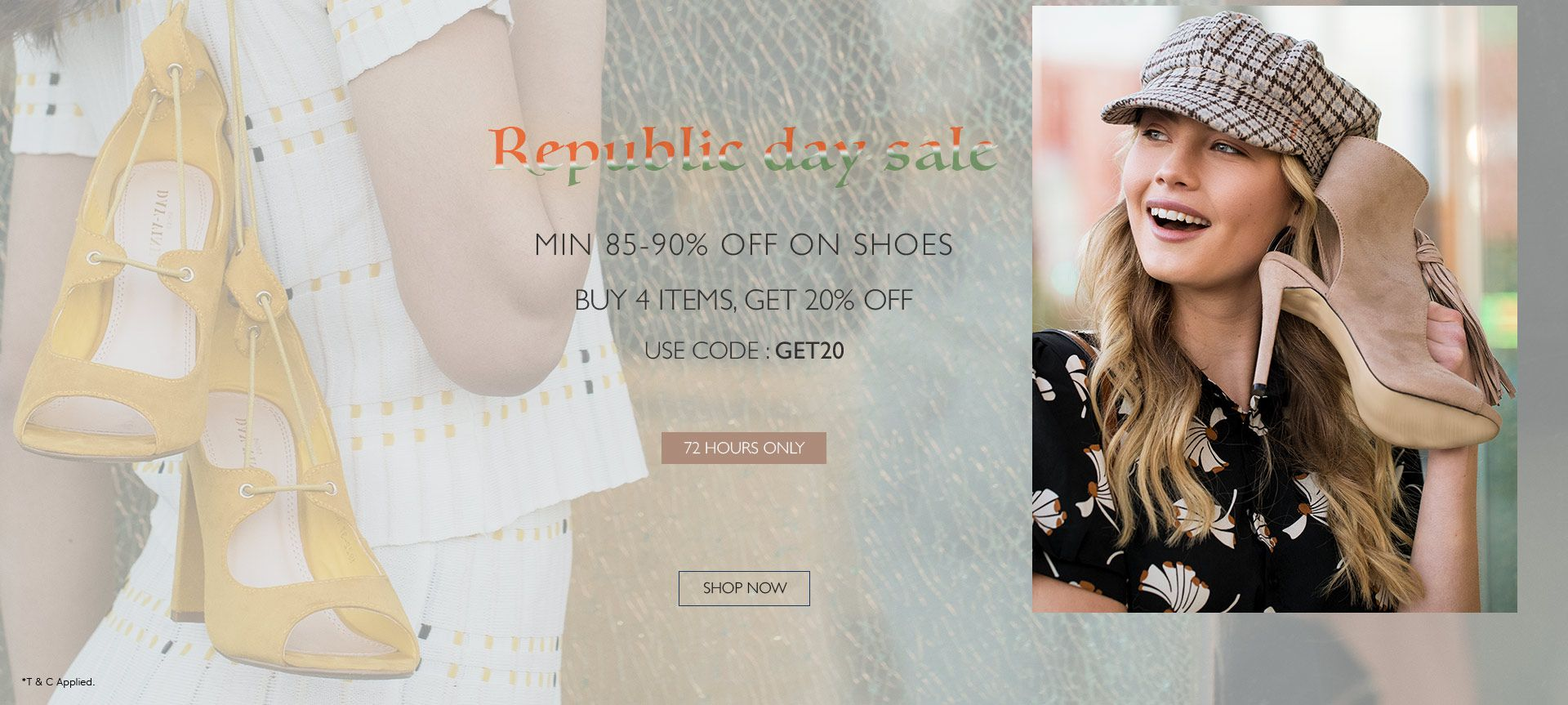 Shoes 85-90% off