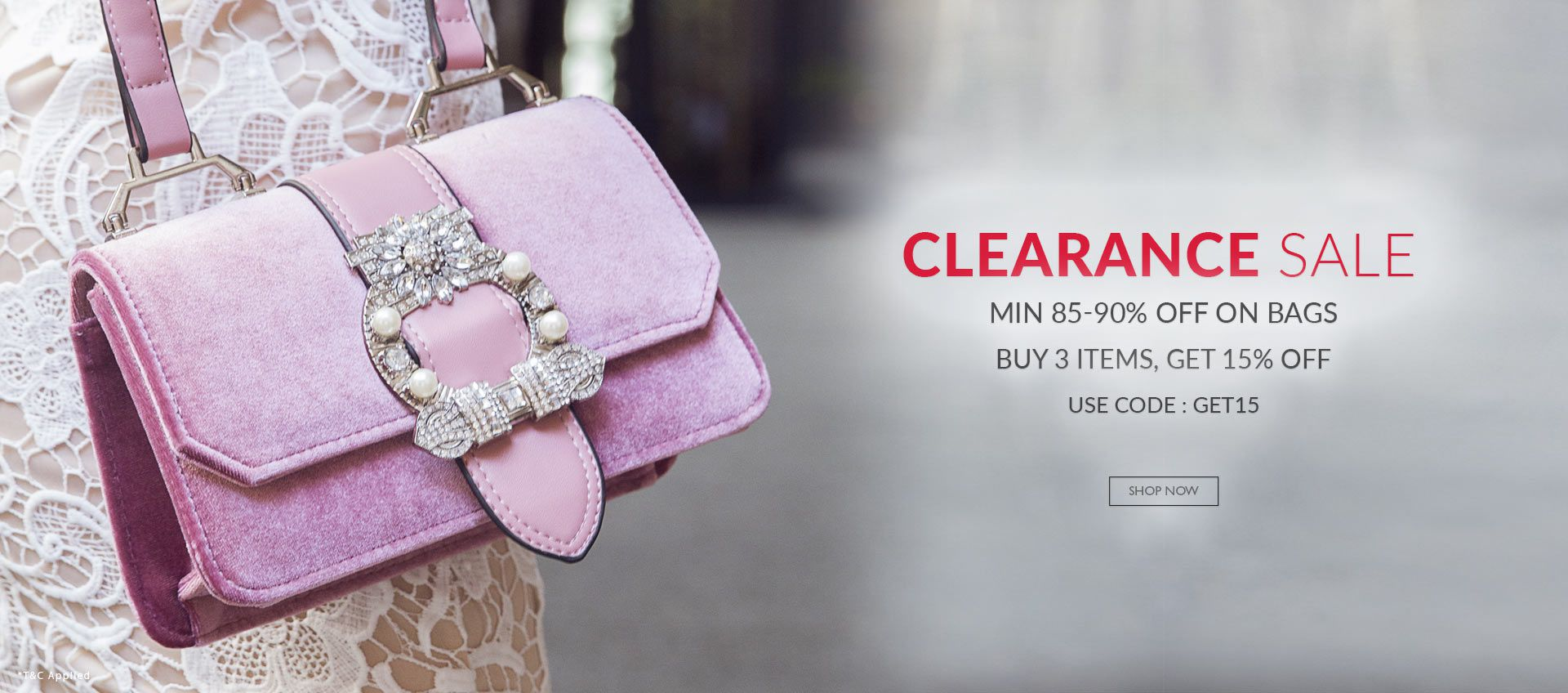 Clearance Sale Bags