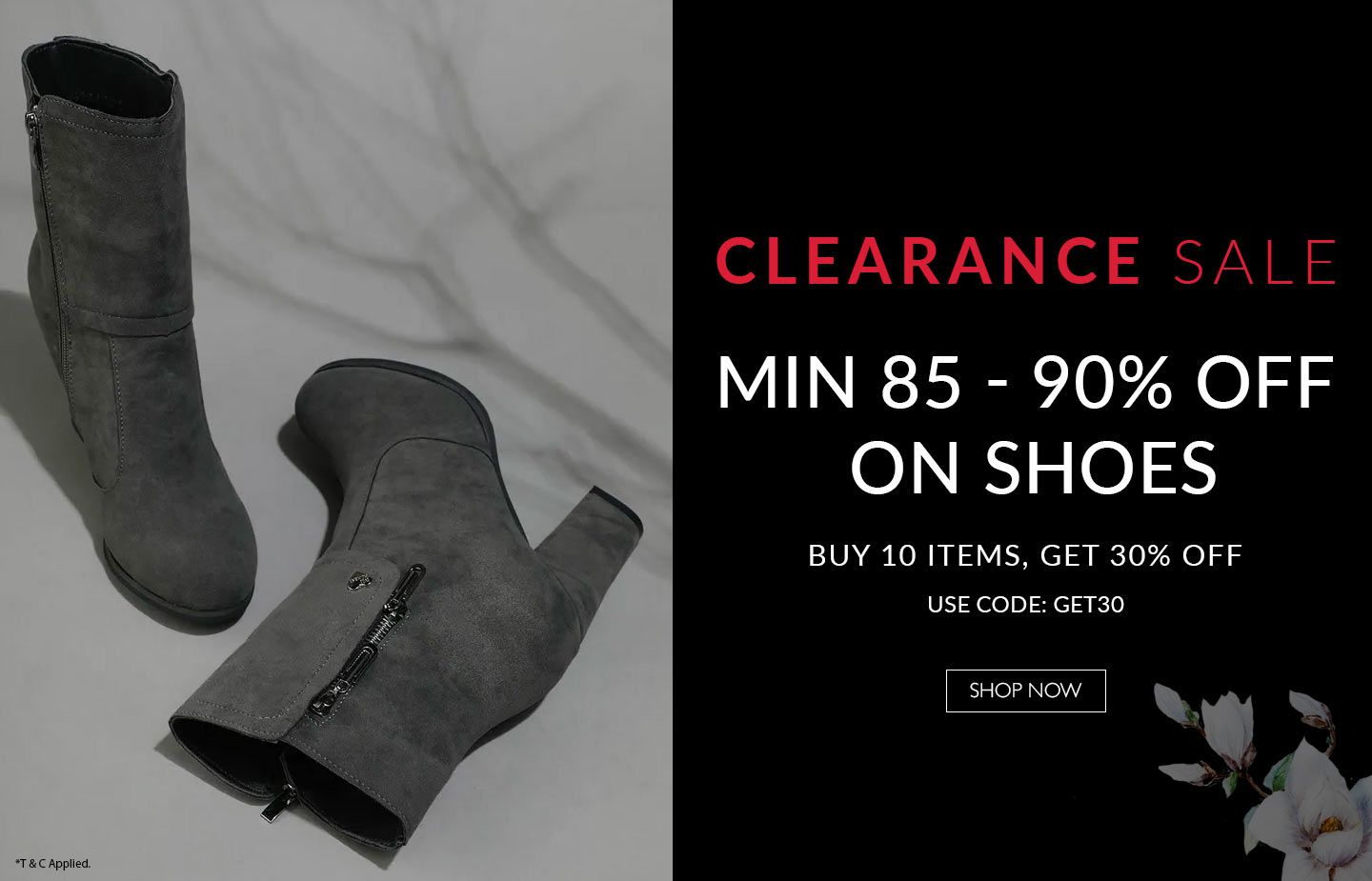 Clearance Sale BOOTS