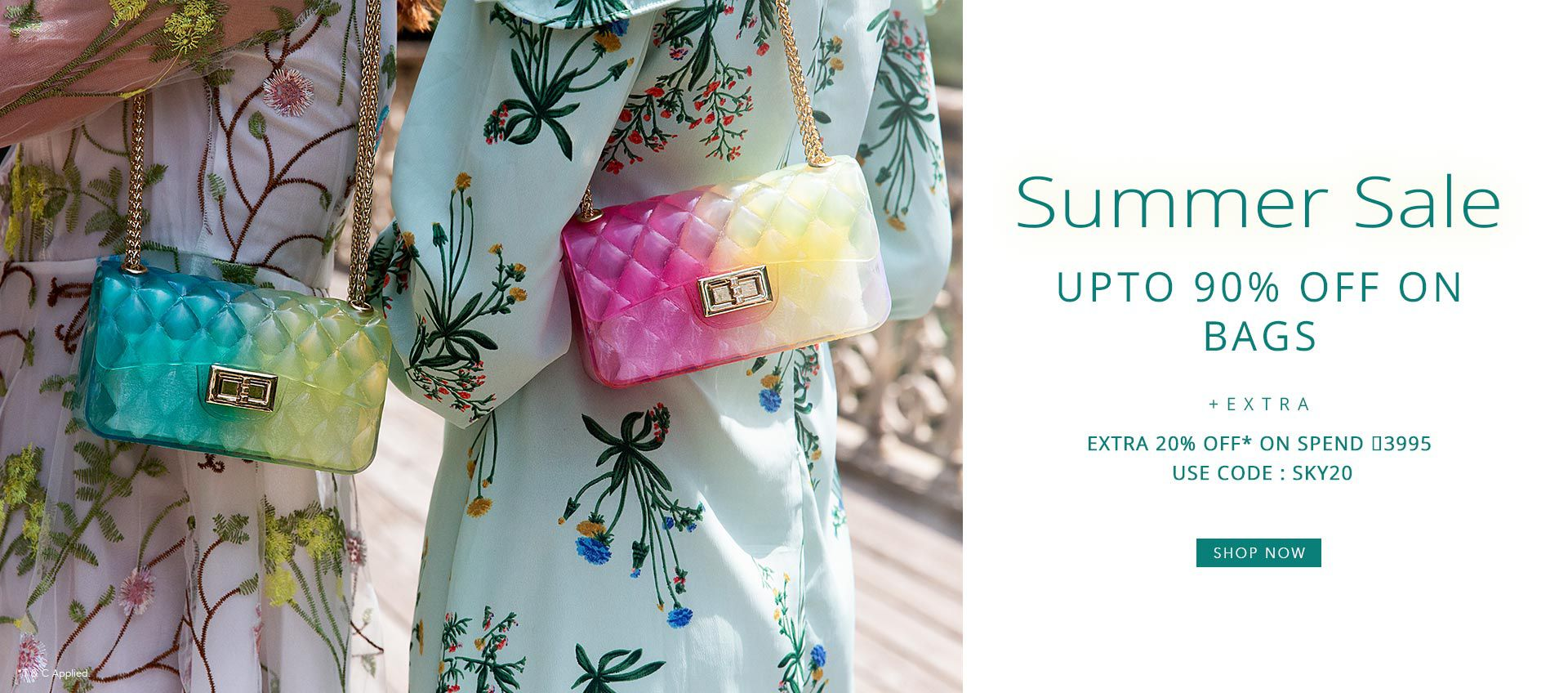 SUMMER SALE UPTO 90% OFF ON BAGS