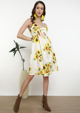 BRIGHT AS THE DAY YELLOW DRESS