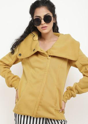 JUST A COSY FEELYELLOW JACKET