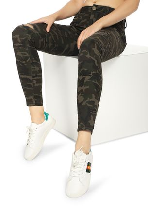 MARCH ON CAMO PRINT TROUSERS