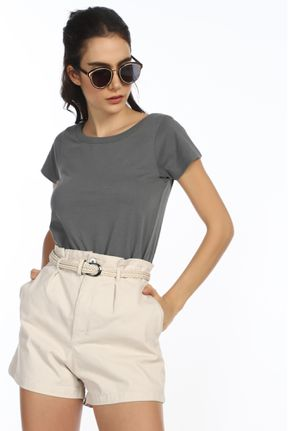 CASUAL STREET STYLE GREY T-SHIRT