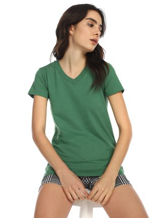 CASUAL STREET STYLE GREEN T-SHIRT