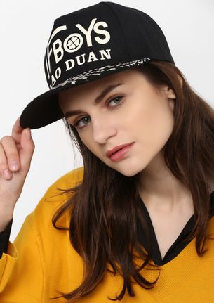 COOL FOR THE STREET BLACK CAP