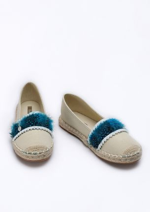 SEE YOU ON THE BEACH BEIGE ESPADRILLES
