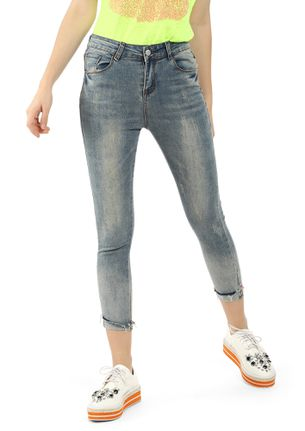 COOL FOR YOU LIGHT BLUE CROPPED JEANS