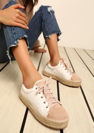 ICE-CREAMY PINK CASUAL SHOES