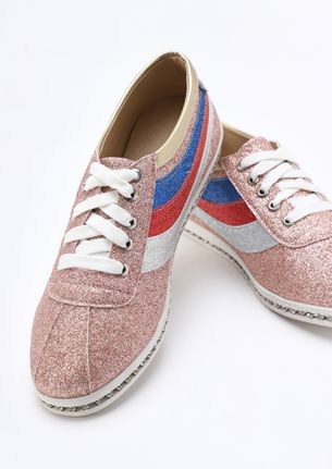 SPORTY-CHIC DONE RIGHT BEIGE CASUAL SHOES