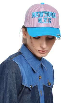 TAKE ME TO N.Y.C PINK CAP
