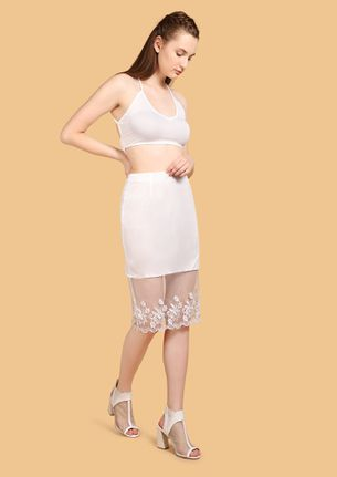 SOONER OR LATER WHITE TWO PIECE SET
