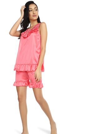 HAPPY SLEEPING TO ME PINK NIGHTWEAR SET