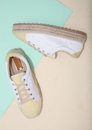 MOVE WITH ME BEIGE ESPADRILLE SHOES