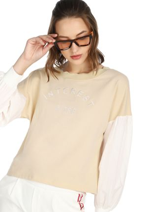 WEEKEND TRIPS BEIGE SWEATSHIRT