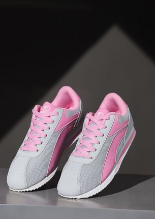 MAKE SENSE PINK TRAINERS