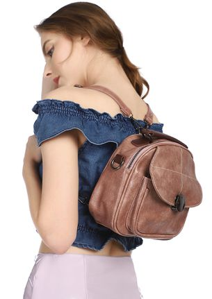 PASS THAT MINI WONDER NUDE PINK BACKPACK