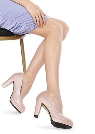 SHINE AND KISSES BABY PINK PUMPS