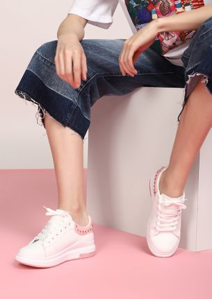 RUN AND SHINE PINK CASUAL SHOES
