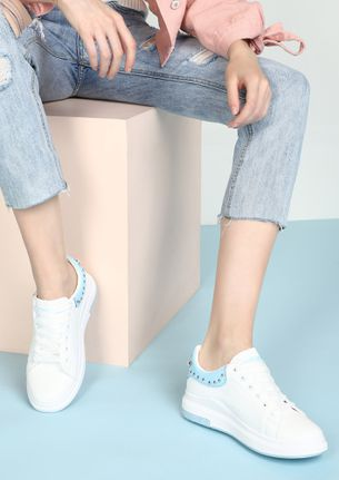 RUN AND SHINE BLUE CASUAL SHOES
