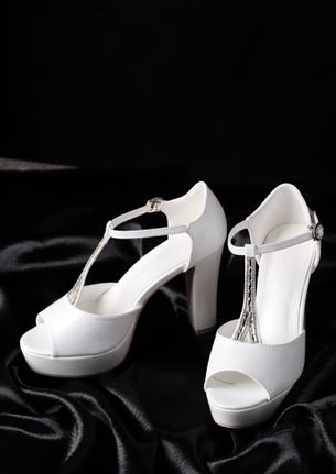 JUST LIKE HEAVEN WHITE PEEP TOES