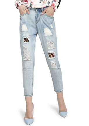 ALL IS GOOD BABY LIGHT BLUE RIPPED JEANS