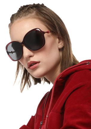 TAKE ME HIGHER WINE RETRO SUNGLASSES