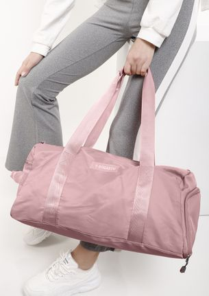 PACK IT ALL PINK DUFFLE BAG
