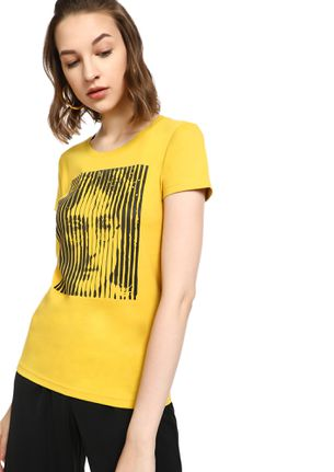 MAD FAT MONKEY FAN FOREVER YELLOW T-SHIRT