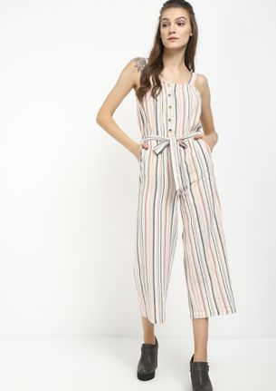 GOING WITH STRIPES MULTICOLOR JUMPSUIT