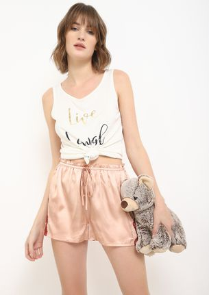 LET'S ROLL BLUSH PINK SHORTS