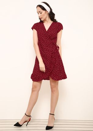 POLKA FOR DAYS RED TUNIC DRESSES