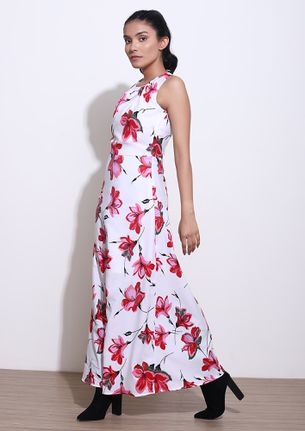 ALWAYS BLOOMING MULTICOLOR MAXI DRESS