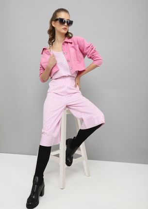 MAKE IT SAIN PINK JUMPSUIT