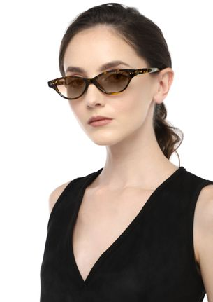 ONLY FOOLS ENVY AMBER BROWN RETRO SUNGLASSES