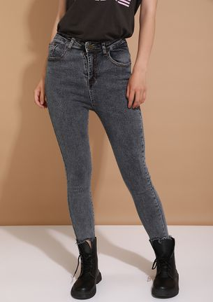 WHAT'S THE FAD GREY JEANS