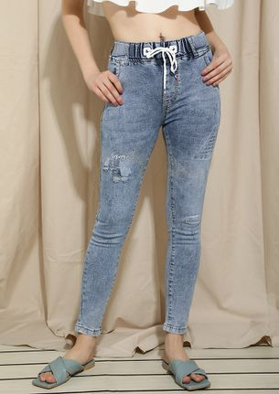HOP OUT IN THE SUMMER SEASON SKINNY JEANS