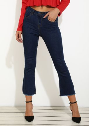 FIT IN TO MY POCKET DARK BLUE JEANS
