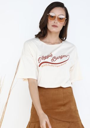 CALL OUT THE FUN YOU WHITE T-SHIRT