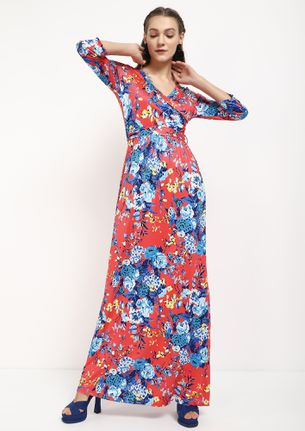 WALK IN THE AFTERNOON PINK MAXI DRESS