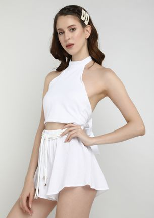 ALL THINGS BRIGHT WHITE TWO PIECE