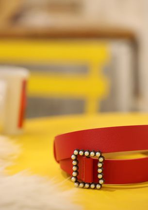 PEARL DELIGHT RED BELT