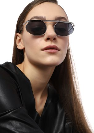 ALMOST FAMOUS BLACK RETRO SUNGLASSES