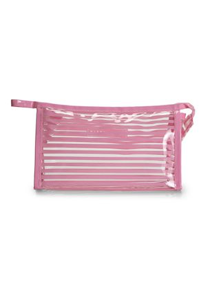 CLARITY GOALS PINK MAKE-UP POUCH