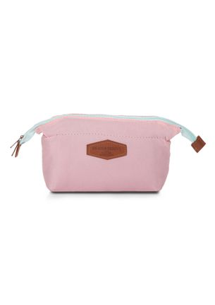 MY HAPPY PLACE PINK MAKE-UP POUCH