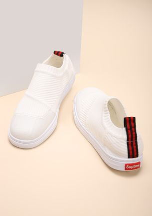 COMFY FEET WHITE CASUAL SHOES